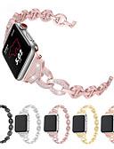 זול להקות Smartwatch-צפו בנד ל סדרת Apple Watch 5/4/3/2/1 Apple אבזם קלאסי מתכת אל חלד רצועת יד לספורט