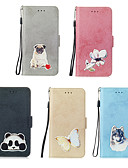 cheap Cellphone Case-Case For Samsung Galaxy Galaxy S10 Plus / Galaxy S10 E Card Holder / Pattern Full Body Cases Animal / Flower Hard PU Leather for S9 / S9 Plus / S8 Plus