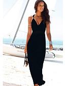 זול שמלות מקסי-כתפיה מידי שמלה נדן בגדי ריקוד נשים