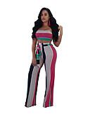 cheap Women's Pants-Women's Set - Solid Colored Pant