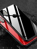 povoljno iPhone maske-Θήκη Za Xiaomi Xiaomi Redmi Note 5 Pro / Xiaomi Redmi 6 Pro / Xiaomi Redmi Note 7 Otporno na trešnju Stražnja maska Jednobojni Tvrdo TPU / Kaljeno staklo / Xiaomi Redmi Note 4X