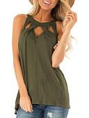billige Skjorter til damer-Tynn T-skjorte Dame - Ensfarget, Lapper Grå