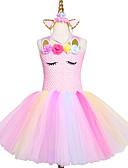 זול שמלות לבנות-בנות ורוד בעבודת יד טוטו השמלה טול נסיכה ילדים שנה חדשה תלבושות vestidos מתנה