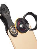 halpa Objektiivit ja tarvikkeet-Matkapuhelin Lens Laajakulmaobjektiivi lasi / Alumiiniseos 1X 37 mm 0.15 m 115 ° Uusi malli