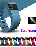 halpa Parien kellot-Pariskuntien Urheilukello Digitaalinen Kumi Musta / Sininen / Oranssi Bluetooth Smart LED-valo Analogi-digitaali Ylellisyys Muoti - Tumman sininen Keltainen Vaalean sininen Yksi vuosi Akun käyttöikä