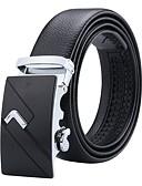 abordables Cinturones de hombres-Hombre Cinturón de Cintura - Trabajo / Básico Un Color
