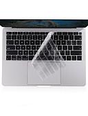 billiga MacBook-tillbehör-xskn® ultratunt tangentbordskåpa för 2018 senare ny macbook air 13.3 klar tpu laptop tangentbord hud skyddande film oss layout