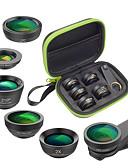 halpa Objektiivit ja tarvikkeet-Matkapuhelin Lens Suodatin-objektiivi / Kalansilmäobjektiivi / Pitkäpolttovälinen objektiivi lasi / Alumiiniseos 2X 25 mm 15 m 210 ° Luova / Uusi malli