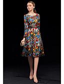 Χαμηλού Κόστους Φορέματα ειδικών περιστάσεων-Γραμμή Α Με Κόσμημα Μέχρι το γόνατο Δαντέλα / Τούλι Κοκτέιλ Πάρτι Φόρεμα με Κέντημα με LAN TING Express