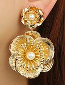 abordables Joyas de Moda-Mujer Perla Artificial Legierung Activo Estilo lindo Elegante Floral