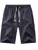 levne Pánské kalhoty a kraťasy-Pánské Základní Kalhoty chinos Kalhoty - Proužky Námořnická modř Šedá Světle modrá XXL XXXL