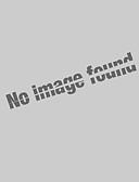 abordables Camisetas para Mujer-Mujer Tallas Grandes Camiseta, Hombros Caídos A Cuadros Azul Piscina XXXL