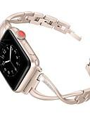 halpa Smartwatch-nauhat-Watch Band varten Apple Watch Series 4/3/2/1 Apple Korudesign Ruostumaton teräs Rannehihna