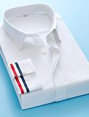 povoljno Košulje-Majica Muškarci - Osnovni Vjenčanje / Party Jednobojni Obala