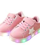 povoljno One-piece swimsuits-Djevojčice Svjetleće tenisice PU Sneakers Dijete (9m-4ys) / Mala djeca (4-7s) Crn / Zelen / Pink Proljeće / Jesen / Guma