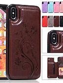 זול מגנים לאייפון-מארז iPhone xr xs מקס בולטות עם מעמד כרטיס מחזיק בחזרה כיסוי פרפר קשה pu עור x x 8 8 פלוס 7 7 פלוס 6 6 פלוס 6s 6s פלוס