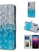 זול מגנים לטלפון-מגן עבור Huawei Huawei P20 Pro / Huawei P20 lite / Huawei P30 ארנק / מחזיק כרטיסים / עם מעמד כיסוי מלא נוף קשיח עור PU / P10 Lite