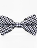 cheap Men's Ties & Bow Ties-Men's Party / Work / Basic Bow Tie - Print / Plaid