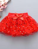 זול שמלות לתינוקות-חצאית רשת מנוקד בסיסי בנות תִינוֹק / פעוטות