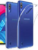 billige Mobilcovers-Etui Til Samsung Galaxy Galaxy M10(2019) / Galaxy M20(2019) Transparent Fuldt etui Ensfarvet Blødt TPU for Galaxy M10 (2019) / Galaxy M20(2019) / Galaxy M30(2019)