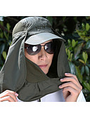 رخيصةأون قبعات الرجال-الصيف فوشيا أزرق فاتح أخضر داكن قبعة شمسية لون سادة للجنسين بوليستر,أساسي