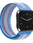 זול להקות Smartwatch-צפו בנד ל Fitbit Versa / Fitbit Versa לייט פיטביט רצועת ספורט ניילון רצועת יד לספורט