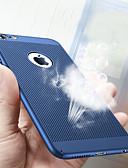 זול מגנים לאייפון-מגן עבור Apple iPhone X / iPhone 8 Plus / iPhone 8 עמיד בזעזועים / אולטרה דק / מזוגג כיסוי אחורי אחיד קשיח PC