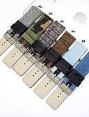 abordables Bandas de reloj inteligente-Ver Banda para Apple Watch Series 4/3/2/1 Apple Hebilla Moderna Cuero Auténtico Correa de Muñeca