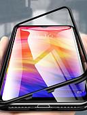 זול מגנים לטלפון-מגן עבור Huawei Huawei P20 / Huawei P20 Pro / Huawei P20 lite שקוף כיסוי מלא אחיד קשיח מתכת