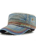 رخيصةأون قبعات الرجال-كل الفصول أزرق البحرية أزرق فاتح أزرق البحرية قبعة البيسبول ألوان متناوبة للجنسين الدنيم,أساسي