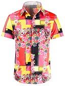 povoljno Muške majice i potkošulje-Majica Muškarci Color block Djetelina XL