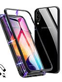 זול מגנים לטלפון-מגן עבור Samsung Galaxy Galaxy A7(2018) / Galaxy A9 (2018) / Galaxy A30 (2019) עמיד בזעזועים / אולטרה דק / שקוף כיסוי מלא אחיד קשיח זכוכית משוריינת