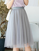 preiswerte Damen Röcke-Damen Grundlegend Schaukel Röcke - Solide
