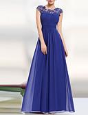 preiswerte Abendkleider-Damen Party Elegant Spitze Swing Kleid - Rückenfrei, Solide Maxi