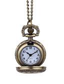 baratos Relógios Homem-Homens Relógio de Bolso Quartzo Marrom Relógio Casual Analógico Vintage Casual - Marron