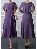 povoljno Maxi haljine-Žene Osnovni Širok kroj Korice Haljina - Čipka, Jednobojni Midi
