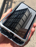 זול כבל & מטענים iPhone-מגן עבור Apple iPhone X / iPhone 8 / iPhone 8 Plus עמיד בזעזועים / עמיד לאבק כיסוי מלא אחיד קשיח אלומיניום ל iPhone X / iPhone 8 Plus / iPhone 8