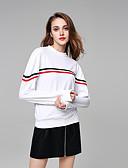 abordables Bodys-Femme Basique Sweatshirt Couleur Pleine