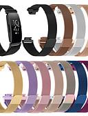 זול להקות Smartwatch-צפו בנד ל Fitbit השראה HR / Fitbit השראה פיטביט לולאה בסגנון מילאנו מתכת אל חלד רצועת יד לספורט