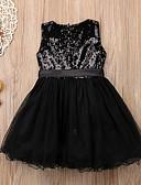 זול שמלות לבנות-שמלה אחיד בנות ילדים / פעוטות