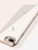 זול מגני מסך ל-iPhone-מגן עבור Apple iPhone XS / iPhone XR / iPhone XS Max עמיד בזעזועים / ציפוי / שקוף כיסוי אחורי אחיד רך TPU