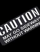 זול להקות Smartwatch-אותיות אזהרה כלליות מדבקה מדבקות רכב רפלקטיביים