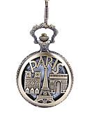 baratos Relógios Homem-Homens Relógio de Bolso Quartzo Preta Vista da cidade Relógio Casual Analógico Casual Esqueleto - Marron