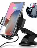 hesapli Cep Telefonu Kılıfları-Raxfly araba kablosuz şarj hava çıkış şarj 5v2a cep telefonu araç braketi 4-7 inç cep telefonu için 360 derece rotasyon