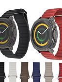 זול להקות Smartwatch-צפו בנד ל Gear S2 Samsung Galaxy לולאה מעור עור רצועת יד לספורט