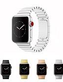 זול להקות Smartwatch-צפו בנד ל Apple Watch Series 4/3/2/1 Apple פרפר באקל מתכת אל חלד רצועת יד לספורט