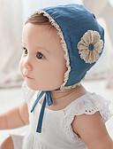 זול ילדים כובעים ומצחיות-מידה אחת פול כובעים ומצחיות כותנה תחרה / פרח / מסוגנן אחיד / פרחוני וינטאג' / פעיל / בסיסי בנות פעוטות / תינוק