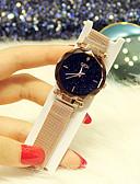 זול שעונים-בגדי ריקוד נשים שעון מכני קווארץ מתכת אל חלד עמיד במים אנלוגי אופנתי - סגול כחול זהב ורד