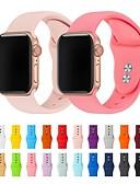 זול להקות Smartwatch-צפו בנד ל Apple Watch Series 4/3/2/1 Apple רצועת ספורט סיליקוןריצה רצועת יד לספורט