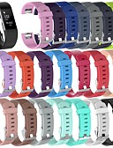 זול להקות Smartwatch-צפו בנד ל Fitbit Charge 2 פיטביט רצועת ספורט / אבזם קלאסי סיליקוןריצה רצועת יד לספורט